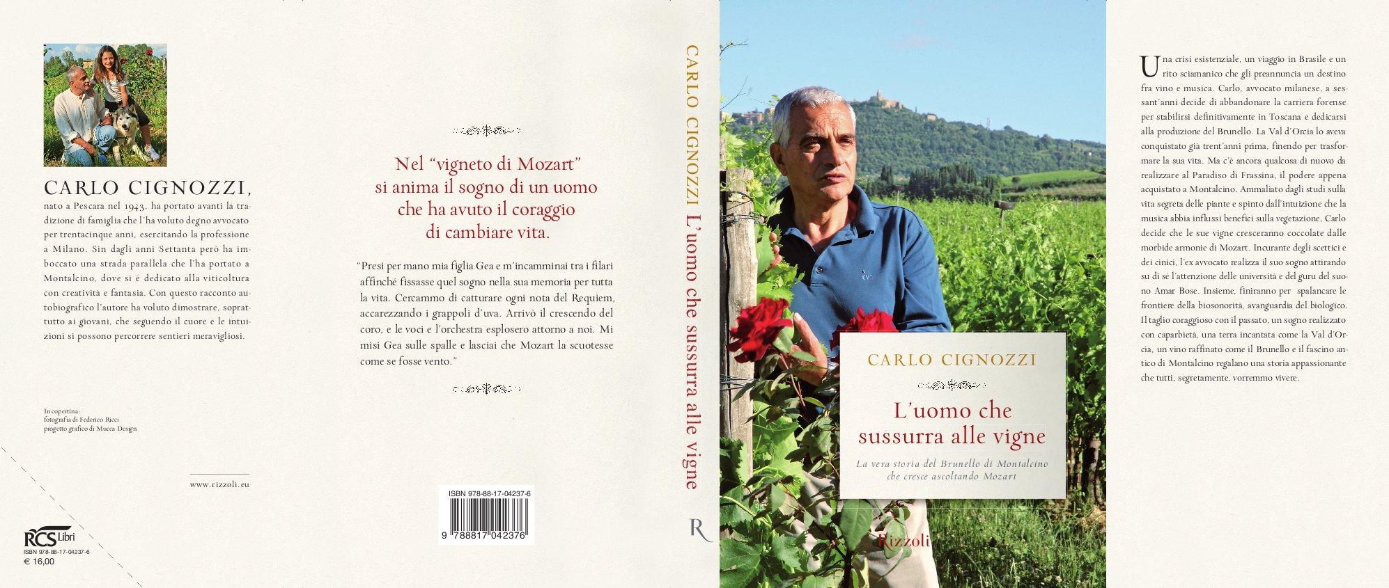 Cover - Uomo che sussurra alla vigne
